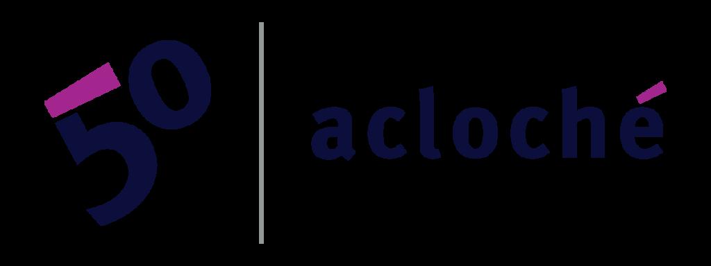 Acloché 50th Anniversary Logo