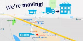 Acloché of Delaware to Change Locations