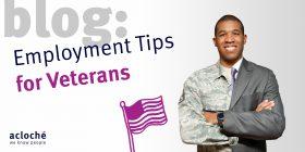 Employment Tips for Veterans