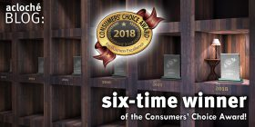 Acloché Wins 6th Consecutive Consumers' Choice Award