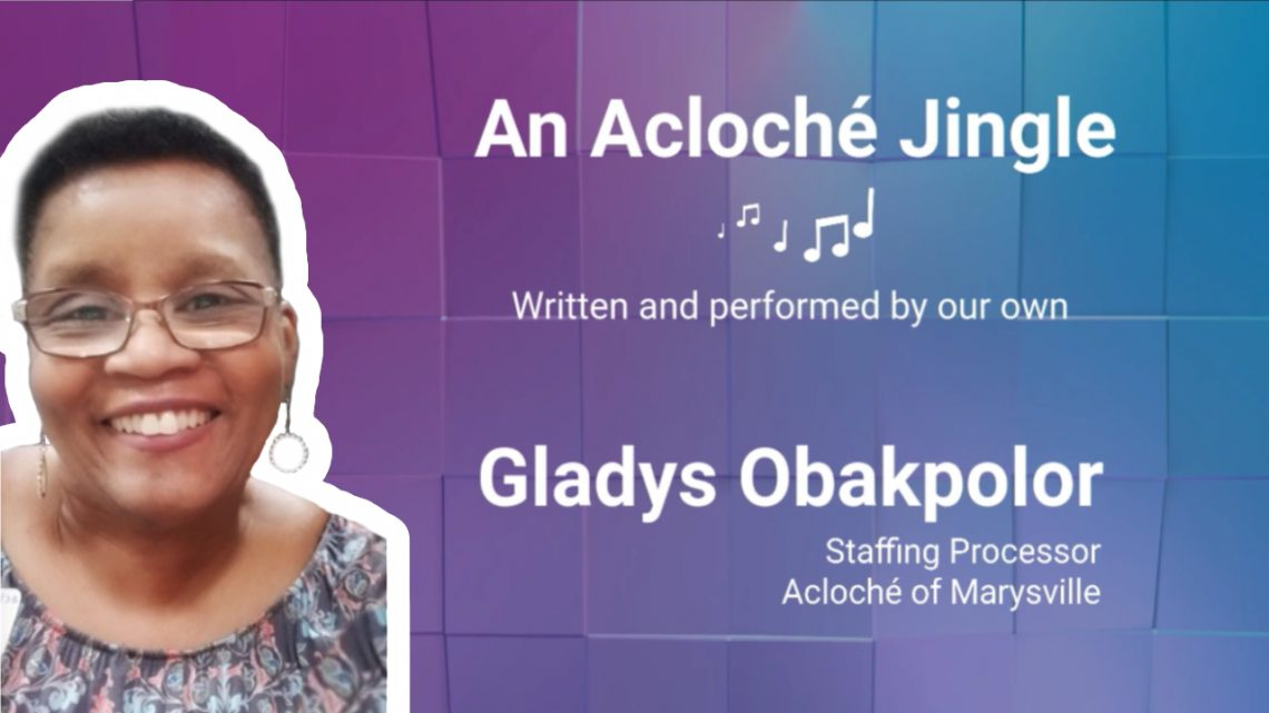 Web Image for Gladys Acloche Jingle