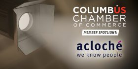 Acloché featured by the Columbus Chamber of Commerce!