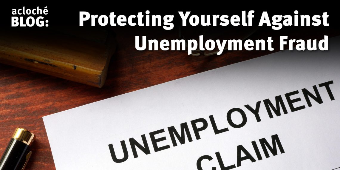 Image of unemployment claim fraud