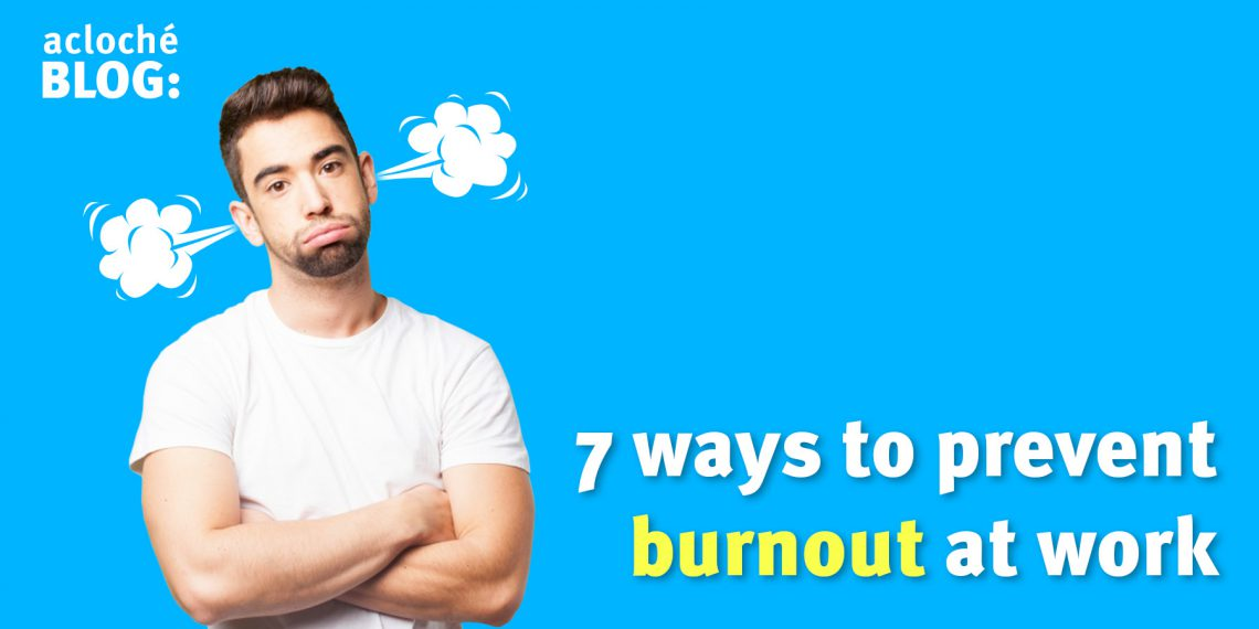 preventing burnout in the workplace